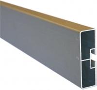 Aluminium Section Retangular Anti-Rack (PA-000019)